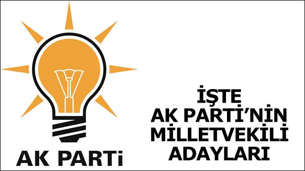 ak parti aday listesi 2015